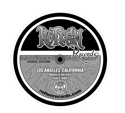 Rotten Records Label Sticker